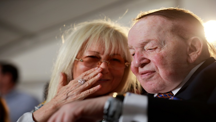 SABC News USA Sheldon Adelson Reuters - Las Vegas casino magnate, US Republican donor Sheldon Adelson dies