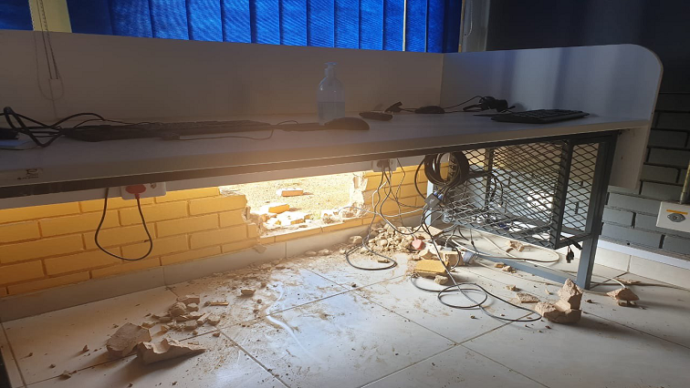 SABC News Vaal School Twitter @Lesufi - More than 42 computers stolen at Sapphire Secondary