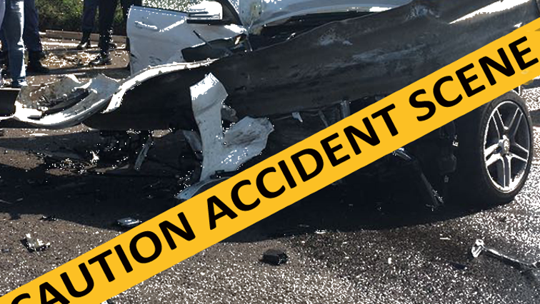 SABC News Accident Scene - Two people killed after a collision involving two vehicles in Mpumalanga