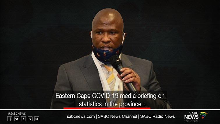 ec covid update - LIVE: Eastern Cape COVID-19 update