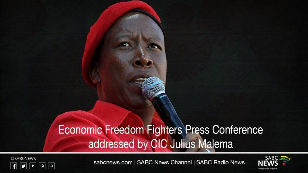 eff presser 1024x577 - LIVE: EFF leader Julius Malema addresses the media