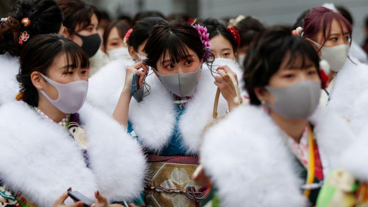 japan R - Young Japanese celebrate Coming of Age Day under COVID's shadow