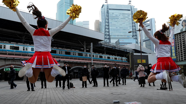 japan2Reuters - Japanese cheerleaders lift spirits amid pandemic