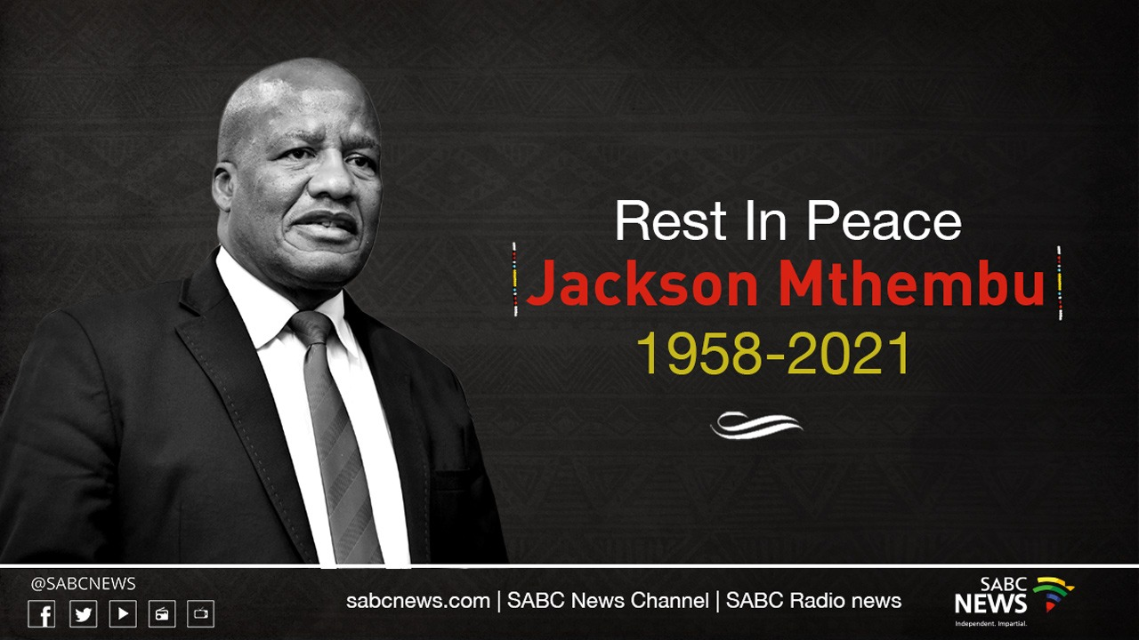 SA's Minister Jackson Mthembu dies from Covid-19 related complications