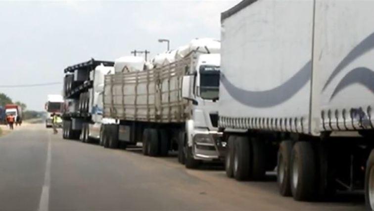 truck 756x426 - North West authorities reopen Kopfontein Border