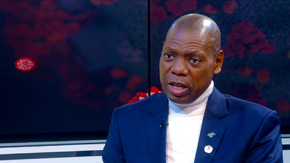 SABC NEWS Zweli Mkhize SABC NEWS - COVID-19 inoculation drive won't be without challenges, warns Mkhize