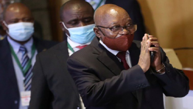 sabc news Zuma walking