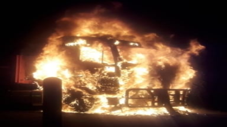 Three trucks torched on the N2 at Ermelo in Mpumalanga - SABC News - Breaking news, special reports, world, business, sport coverage of all South African current events. Africa's news leader.